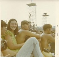 Bob at Woodstock with classmates